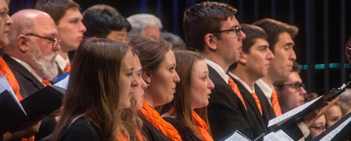 Concert-Chorale and University Singers Concert: Revival