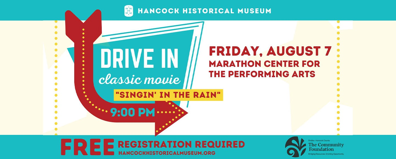 Drive In Classic Movie: Signin' in the Rain