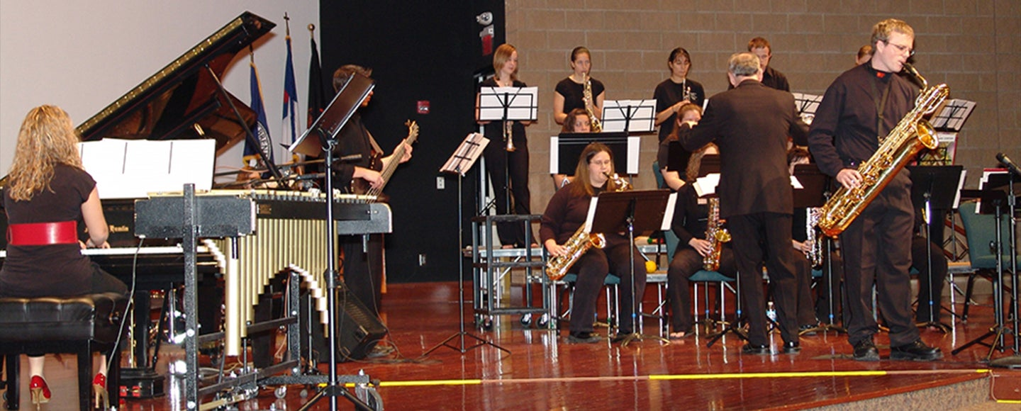 Jazz Ensemble Concert: Jazz. . .Some Like it Cool. . .Some Like it Hot!