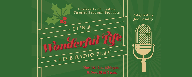 LIVESTREAM   It's a Wonderful Life: A Live Radio Play