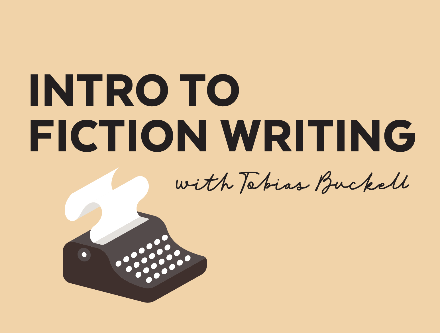 More Info for Intro to Fiction Writing with Tobias Buckell